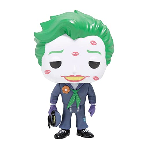Funko Pop Heroes : DC Comics Bombshells - The Joker with Kiss (Glow at Night) Figure Gift Vinyl 3.75inch for Heros Movie Fans SuperCollection