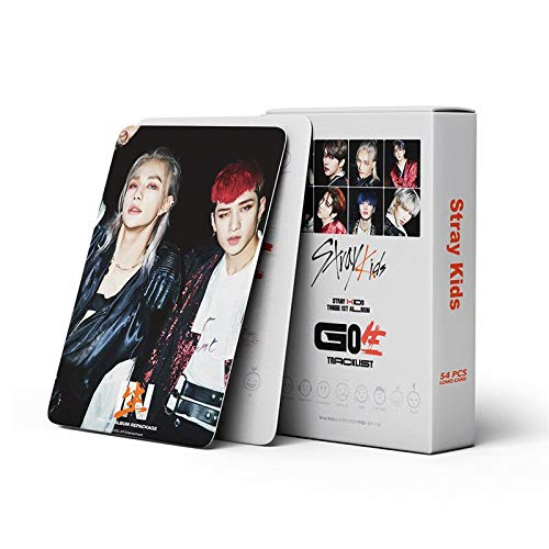 54 unids / set Kpop Stray Kids Photocard GO LIVE tarjeta de álbum tarjetas hechas a...