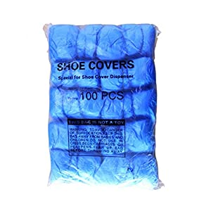 Dolphy Disposable Shoe cover refills for automatic shoe cover dispenser – 100pcs