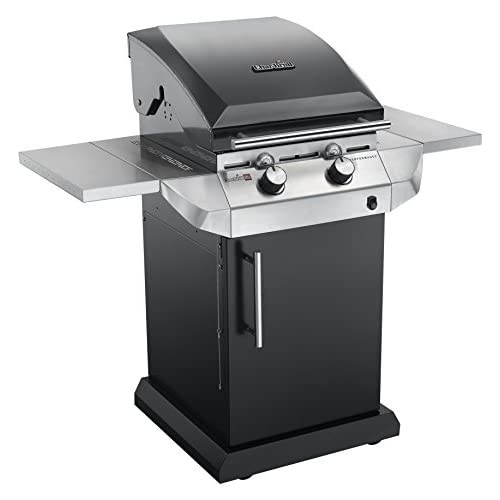 Char-Broil Performance Series T22G B – 2 Burner Gas Barbecue Grill with TRU-Infrared technology, Black Finish