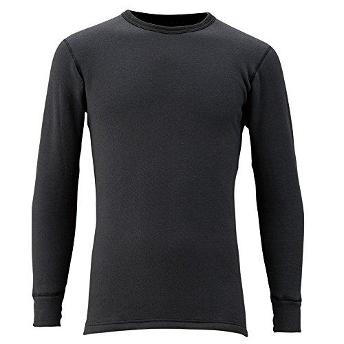 フリーノット(FREE KNOT) レイヤーテックアンダーシャツ シープバック超厚手 L ブラック Y1619-L-90