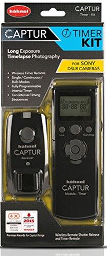 Hahnel Captur Remote Camera/Flash Trigger Captur Remote Timer Kit for Sony, Black (HL -CAPTUR TK-S)