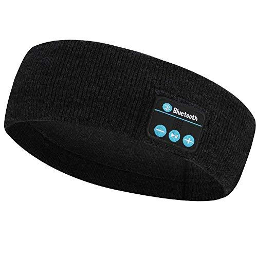 Música Inalámbrica Bluetooth Auriculares con Banda De Punto De Dormir Headwear Altavoz De Los Deportes Auricular para Entrenamiento para Correr Yoga