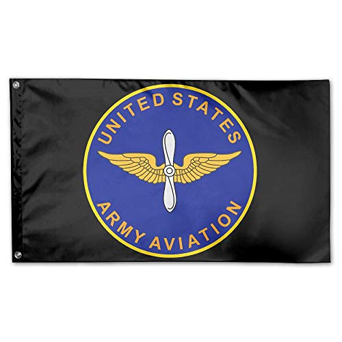 Army Aviation United States Breeze 3 X 5 Flag - Flying with The Wind - Vivid Color and UV Fade Resistant-Brass Grommets 3 X 5 Ft