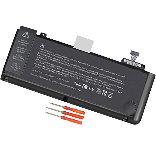 A1322 A1278 Battery Compatible with MacBook Pro 13 inch Mid 2012 Early 2011 Late 2011 Mid 2010 2009,MB990LL/A MB991ll/A MD313LL/A MC374ll/A MC375LL/A MC700ll/A MD101LL/A MD102LL/A Battery