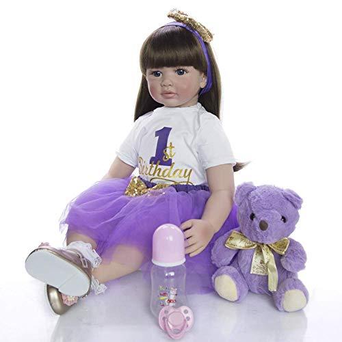 Reborn Dolls Rebirth Doll 24 Pulgadas / 60cm Reborn Baby Dol