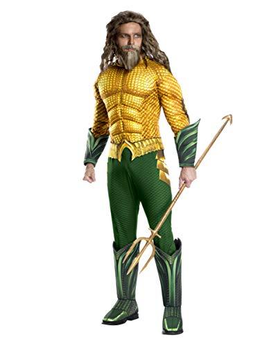 Aquaman Muscle Disfraz para Hombre Deluxe XL 56-58