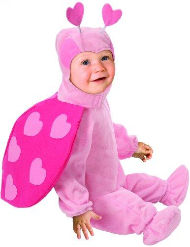 Costume coccinella neonata 1 - 2 anni (86 cm)