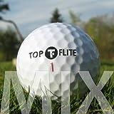 Easy Lakeballs 100 Top-FLITE Mix Pelotas DE Golf RECUPERADAS/Lake Balls - Calidad AAA/AA (A/B Grade) - EN Bolsa DE Red