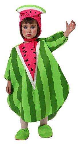 Atosa–10431–Disfraz de sandías para bebé–Talla 0–6Meses