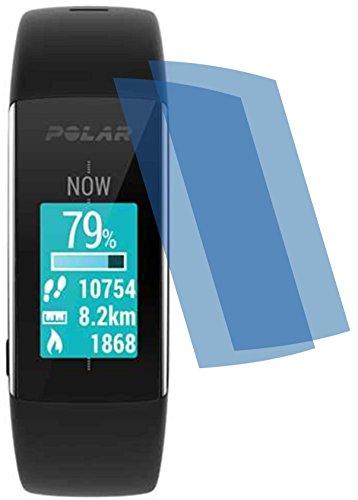 4ProTec I 2X ANTIREFLEX matt Schutzfolie für Polar Fitness und Activity Tracker A360 A370 Bildschirmschutzfolie Bildschirmschutz Bildschirmfolie Folie BEWUSST Kleiner GEHALTEN WEGEN GEWÖLBTEM Bildschirm