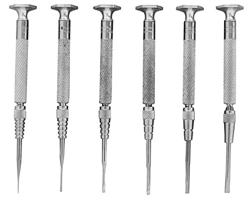 General Tools SPC600 Six-Piece Jewelers Screwdriver Set