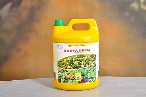 SURYA Organic Neem Oil Pesticide Emulsified (1L)