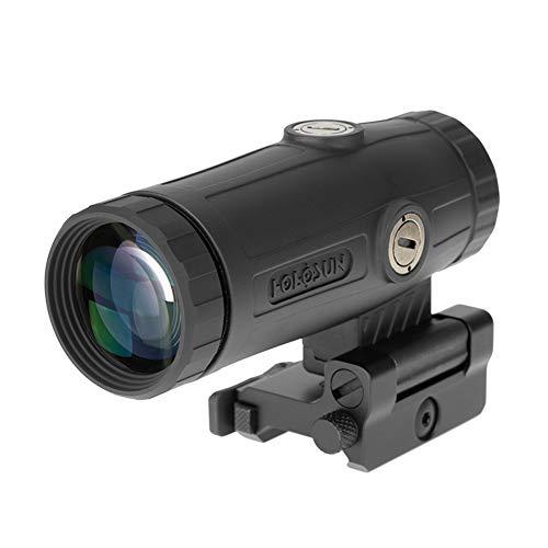 HOLOSUN HM3X 3X Flip to Side Magnifier,Black
