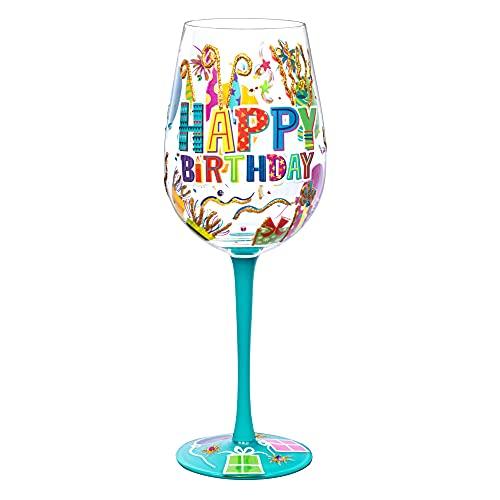 Copas De Vino Personalizadas Para Cumpleaños Marca NymphFable