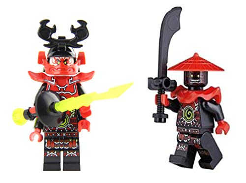 LEGO Ninjago: General Kozu and Stone Warrior with Weapons