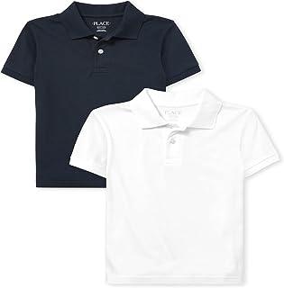 The Children's Place boys Boys Uniform Jersey Polo 2-Pack Polo Shirt