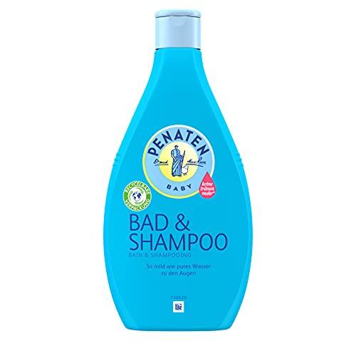 Penaten Baby Badezusatz und Shampoo, 2-in-1 Waschgel für Haut und Haar, 400ml