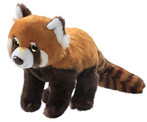 Carl Dick Roter Panda, Katzenbär aus Plüsch ca. 24cm ca. 37cm mit Schwanz 3158