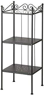 Bathroom Metal Shelves - Black