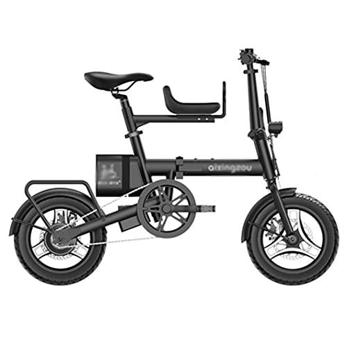 ZXQZ Bicicletas Eléctricas de Montaña para Adultos Bicicleta Eléctrica de 14 '',...