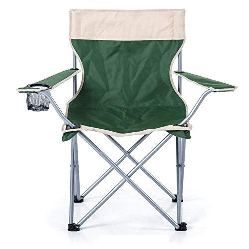 Draagbaar het kamperen stoel opvouwbare strandstoel vissen kruk Klapstoel Superhard hoge belasting Outdoor Camping Stoel Portable Beach