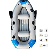 YUESFZ Kayaks y piraguas de mar Piragua Hinchable Siéntese En Los Mejores Kayaks, Barco De Pesca Engrosado Al Aire Libre, Tabla De Surf De Aventura Marina, Canoa Inflable Portátil