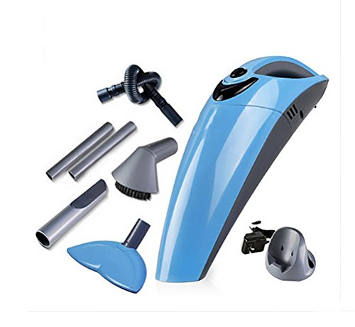 Find Bargain LEAJIA Car Vacuum Cleaner, Home Wireless Charging High Power Vacuum Cleaner, Blue