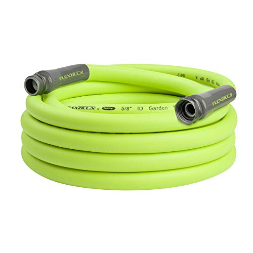 Flexzilla Garden Hose, 5/8 in. x 25 ft., Heavy Duty, Lightweight, Drinking Water Safe - HFZG525YW