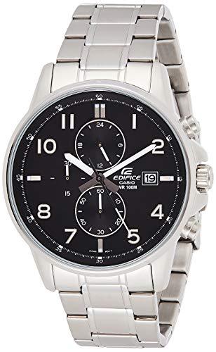 Casio EDIFICE Reloj en caja sólida, 10 BAR, Negro, para Hombre, con...