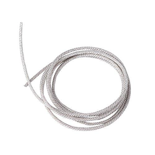 Zerone 32 strengen verzilverde luidsprekerdraad leidt hoge temperatuurbestendige gedraaid koper subwoofer draad kabel reparatie(1 meter)