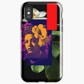 Jazz Lady Billie Holiday Flower - Apocalypse Phone Case Glass, Glowing For All Iphone, Samsung Galaxy-atacado.