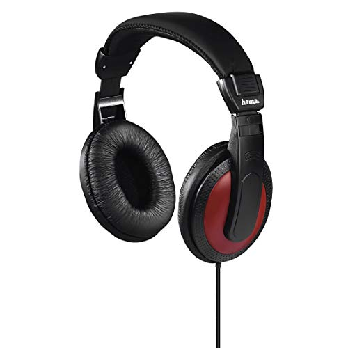 Hama 184012 | 'Basic4Music' Over-Ear Stereo Headphones | Black