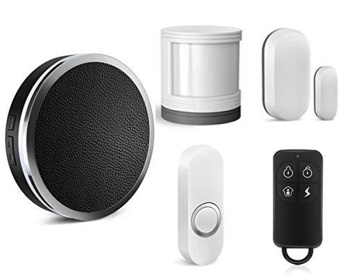 Sistema de Alarma de Seguridad para el hogar con WiFi, Funciona con Google Home/Amazon Alexa