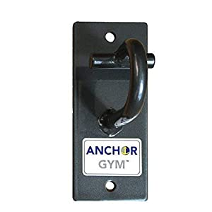 Anchor Gym H1 Workout Wall Mount Strap Anchor | Wall, Ceiling Mounted Hook Exercise Station for Bodyweight Straps, Resistance Bands, Strength Training, Yoga, Home Gym