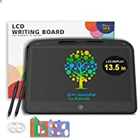 Witeo LCD Writing Tablet, 13.5 Inches Colorful Screen Doodle Boards with Lock Function, Erasable Reusable Electronic...