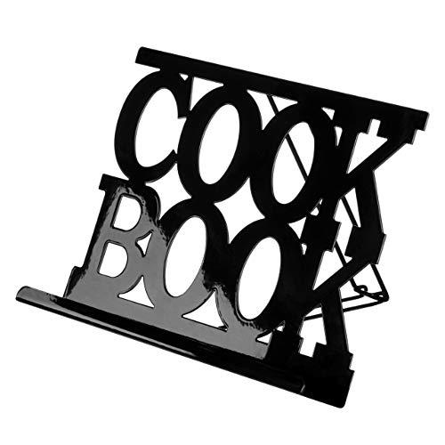 Premier Housewares 0508383 Support de Livre de Cuisine en Émail Noir