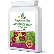 Montmorency Cherry 750mg 90 Capsules - High Strength Pure Freeze Dried - UK Manufactured to GMP Guaranteed Quality