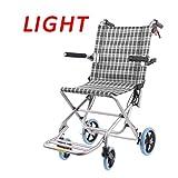 Wiltec Rampa per sedie a rotelle Pieghevole rampa Carrozzina Ripiegabile in Alluminio 150 cm Fino a 270 kg