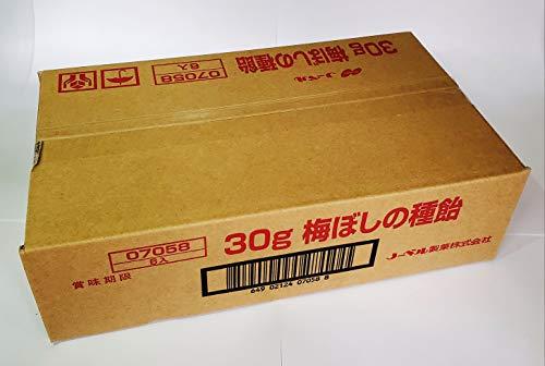 ノーベル梅干の種飴30g×6個