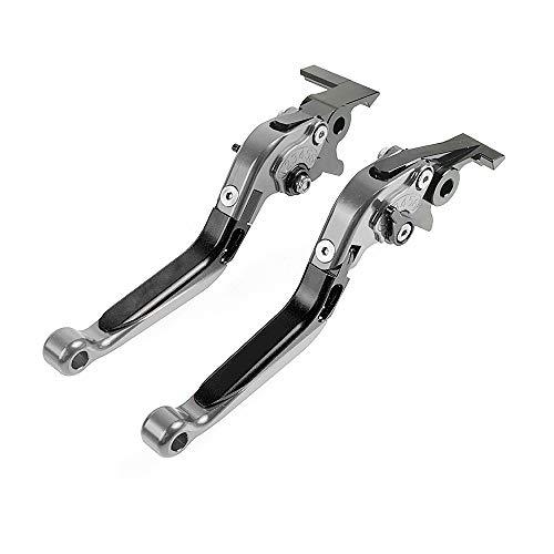 CNC Kupplung- & Bremshebelsets Klappbar Ausziehbar Für Honda CB650F CB 650 F CBR650F CBR 650 F 2014-2018 Schwarz