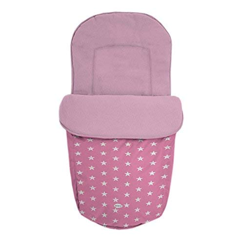 Baby Star 25483 – Sac pour siège universelle, couleur ROSE