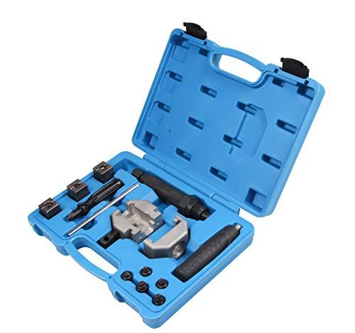 SLPRO Hydraulik Bördelgerät Bremsleitung Bördelwerkzeug Bördeln Werkzeug Set 18-TLG