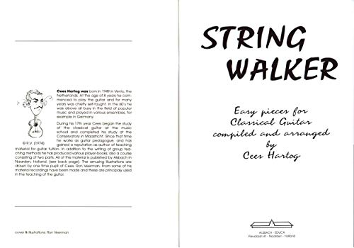 String Walker Easy Pieces for classical guitar - Piezas de ...