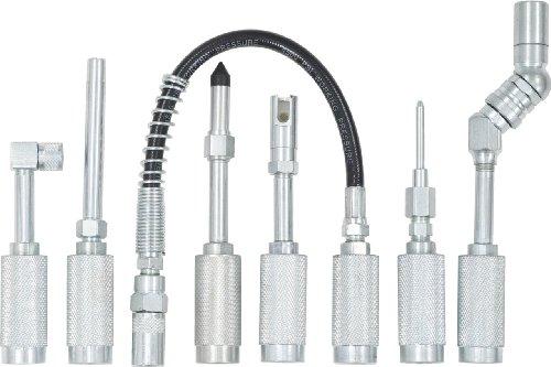 KS Tools 980.1100 Fettpressen-Adapter-Satz, 7-tlg.
