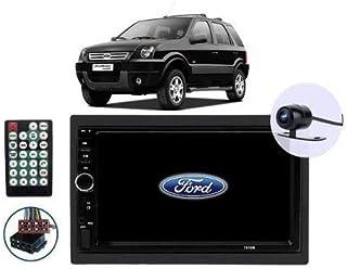 Multimídia Ford Ecosport 2004 2005 2006 2007 2008 2009 2010 2011 2012 Espelhamento Android Ios Bluetooth + Câmera De Ré