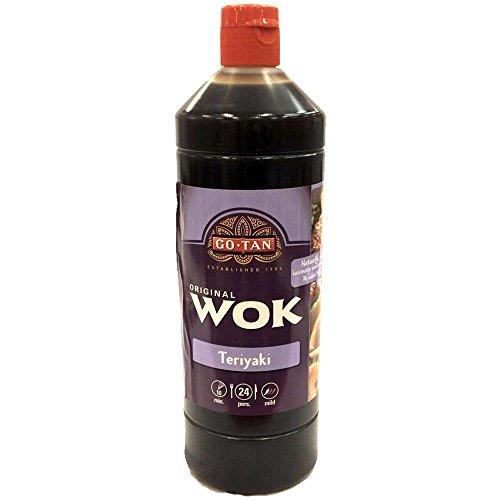 GoTan Asia-Sauce Teriyaki 1000ml (Soja-Ingwer-Honig) Wok Essentials