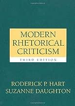 By Roderick P Hart - Modern Rhetorical Criticism: 3rd (third) Edition
