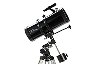 Celestron PowerSeeker 127 EQ - Telescopio (50x - 225x, Distancia Focal 1 m), Color Negro (B0017WUI8E) | Amazon price tracker / tracking, Amazon price history charts, Amazon price watches, Amazon price drop alerts