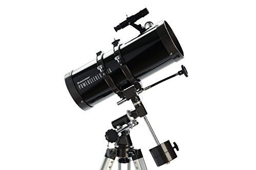 Celestron PowerSeeker 127 EQ - Telescopio (50x - 225x, Distancia Focal 1 m), Color Negro
